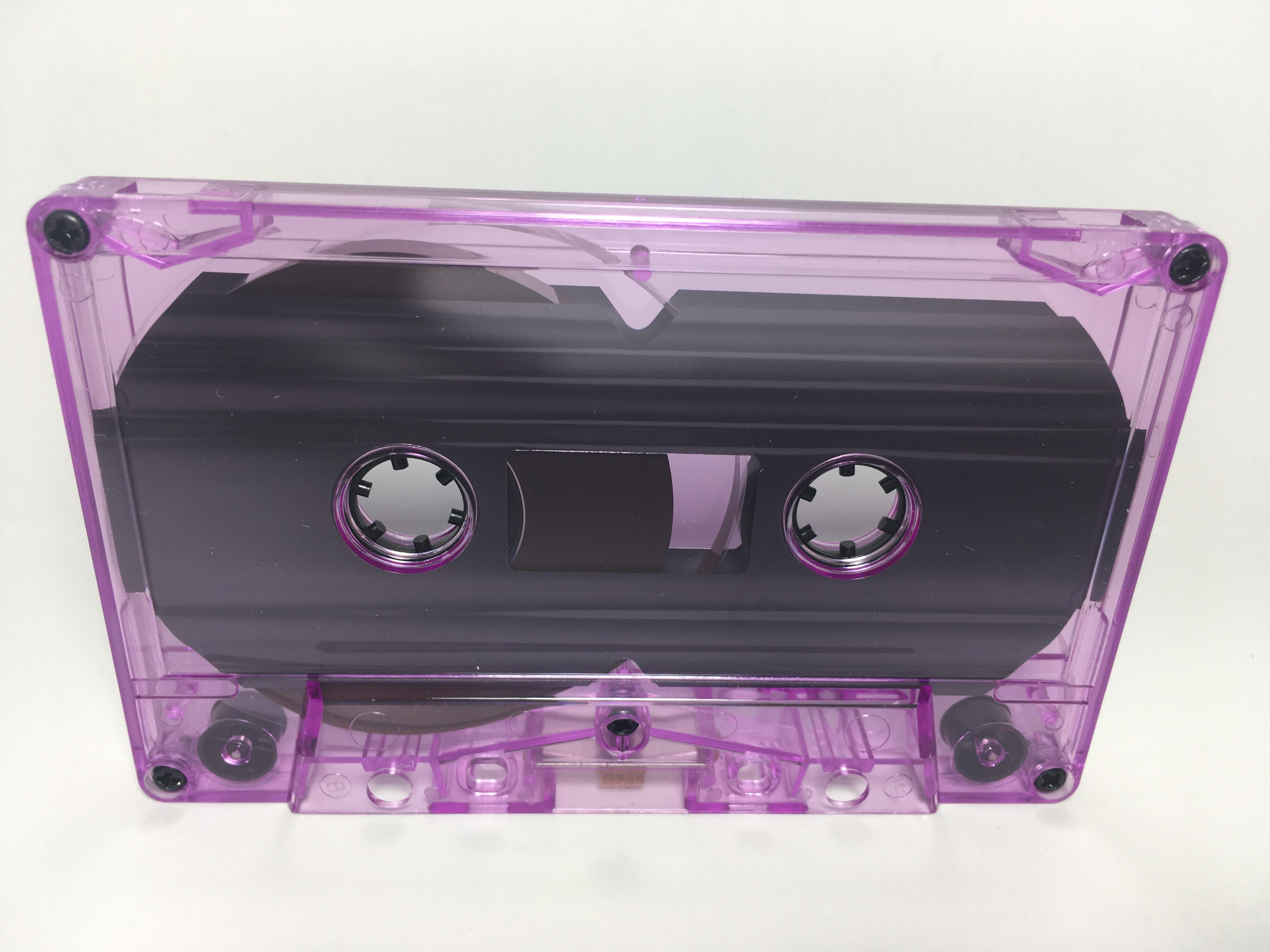 C-52 Normal Bias Purple Tint Cassettes 11 Pack