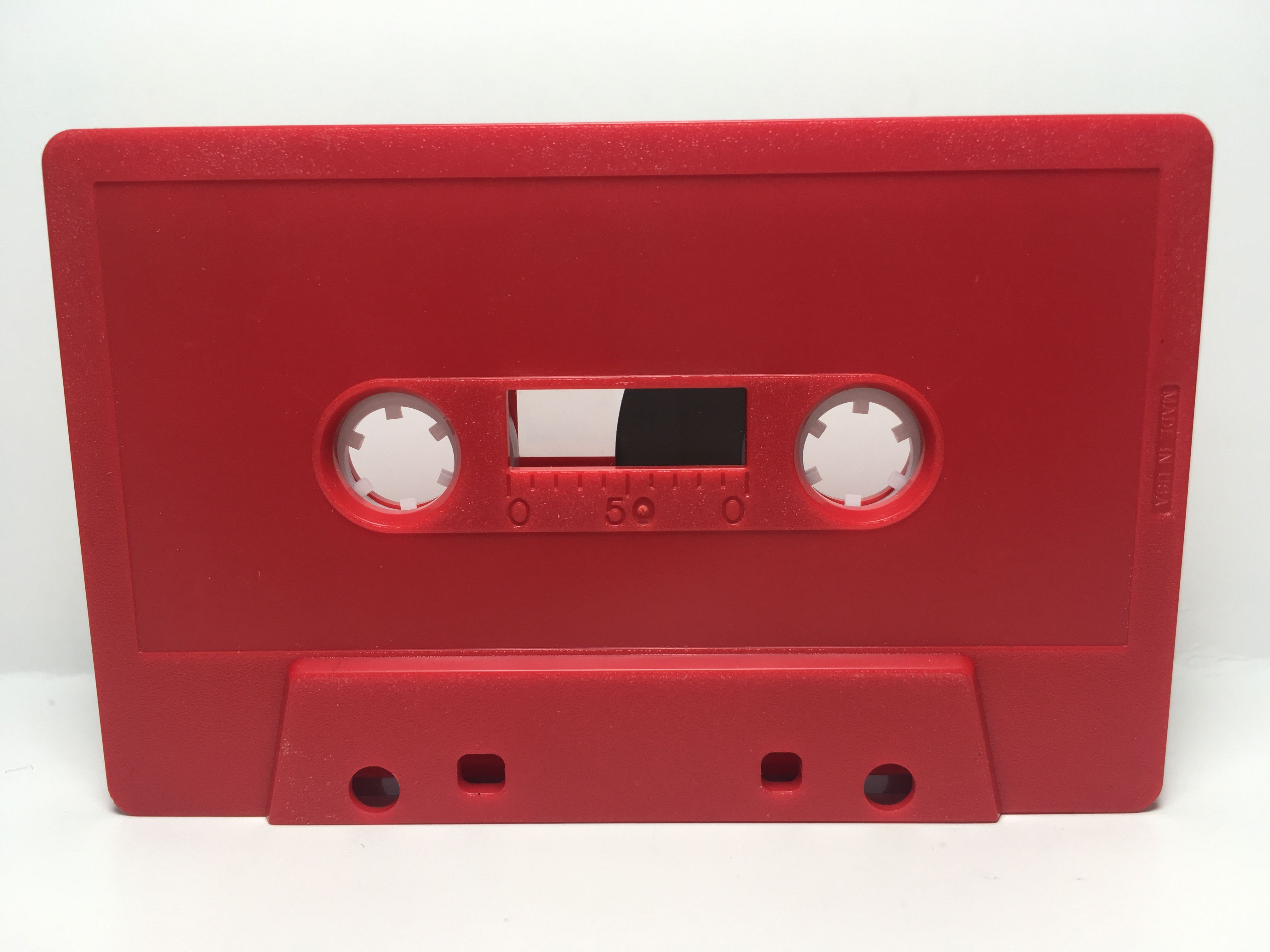 C-23 High Bias Red Cassettes 20 Pack