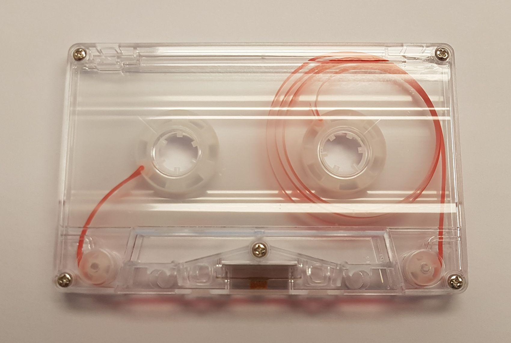 C-10 Normal bias transparent cassettes 20 pack