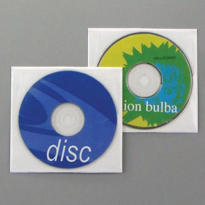 Poly Adhesive Safety-Sleeve 27004 for CD/DVD