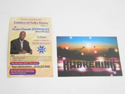 4 x 6 printed flyers, double sided 14pt print, 4 colors both sides, coated both sides