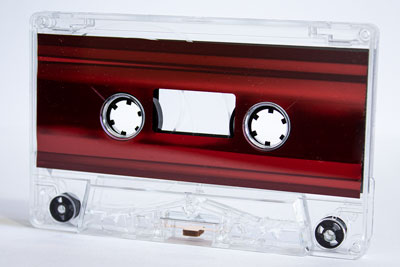 C-23 High Bias Metallic Red Foil Cassettes 20 Pack