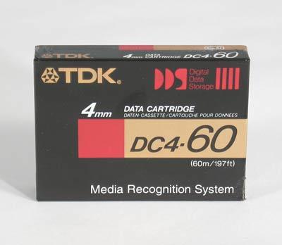 TDK DC4-60R 4mm TAPE DATA CARTRIDGE