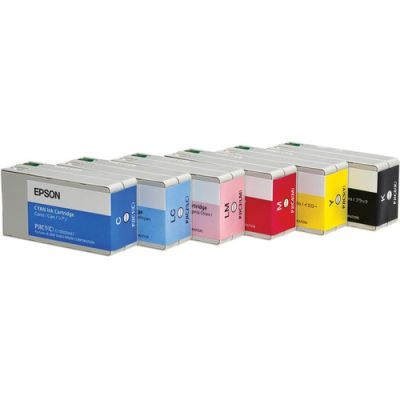 EPSON 6 INK CARTRIDGE SET FOR DISCPRODUCER PP-100