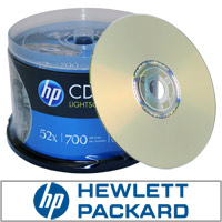Lightscribe CD-R 50pk HP