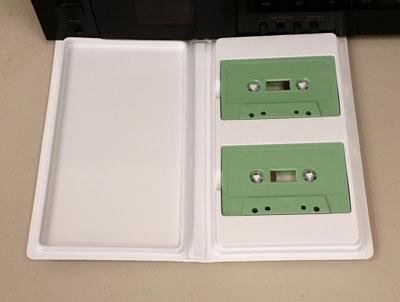 White Album for 2 Audio Cassettes - New Stock