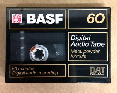 BASF 60 Minute Metal Powder Formula Audio DAT Tape