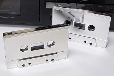 Platinum Plated Audio Cassette