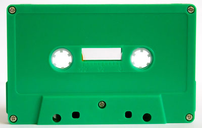 C-16 Normal Bias Green Cassettes 10 pack