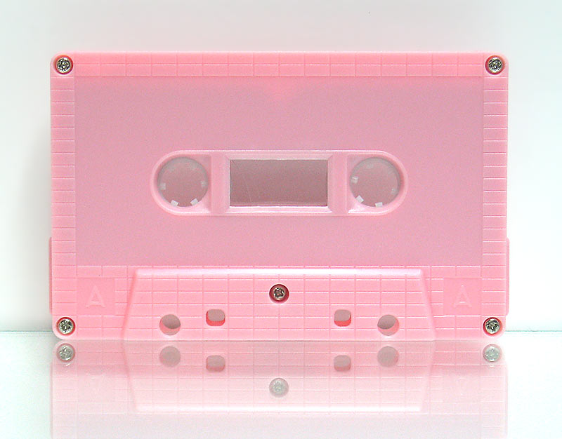 C-102 Normal Bias Pink Brick Cassettes 20 Pack