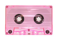 Pre-loaded Normal 30 minute tape - C0-TONRPINKTRANSPARENT