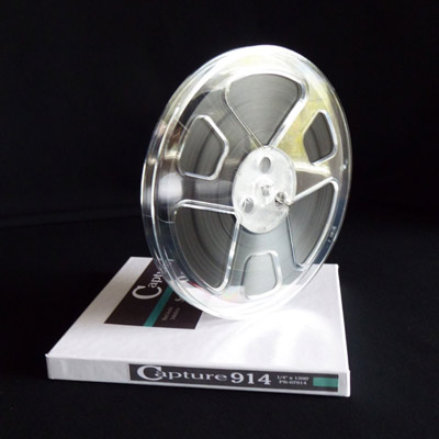 Capture 914 Reel to Reel Audio Tape, 1250 Feet on 7 inch reel