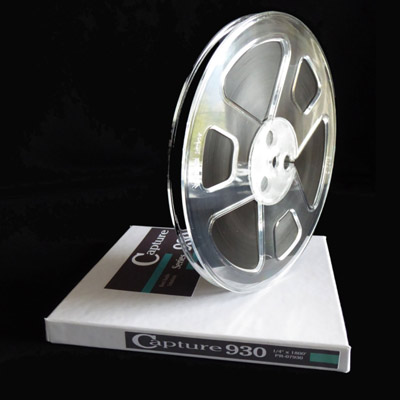 Capture 930 Reel to Reel Audio Tape, 1800 Feet On 7 Inch Plastic Reel