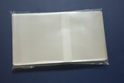 Crystal-Clear Resealable Bag for Audio Cassettes in O-Cards 100pk