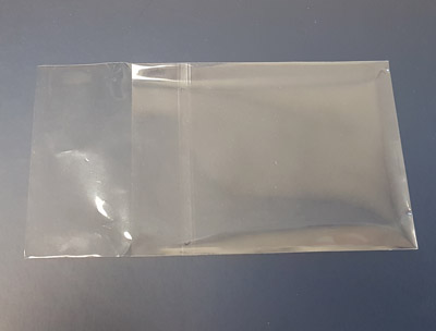 Crystal-Clear Resealable Bag for Audio Cassettes in Norelco Cases 100pk