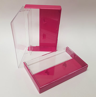 Rubine Red Cassette Box