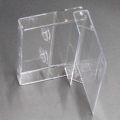 Clear Cassette Boxes - 100 pieces