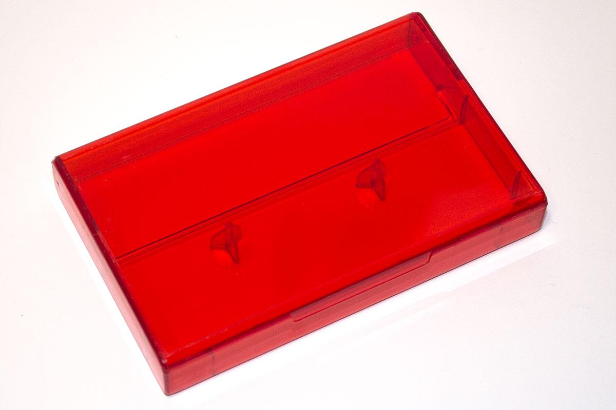Full Red Tint Cassette Box