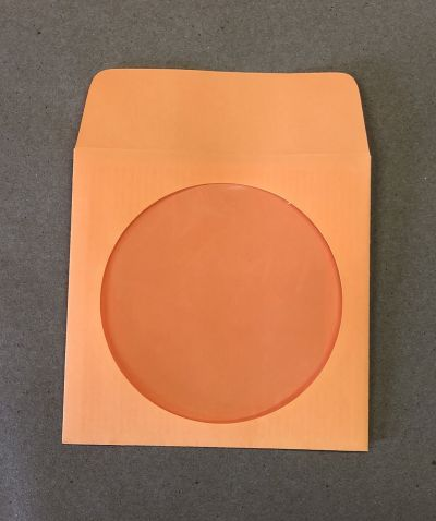 Hotpocket orange disc sleeves