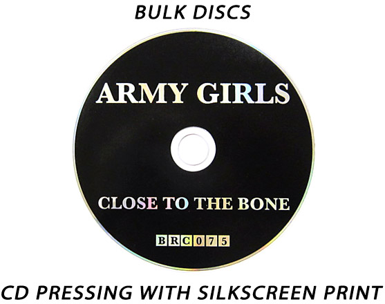Bulk CD Replication w/ Silkscreen Printing * FREE SHIPPING USA/CANADA *