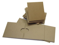 300 Chipboard 2 Pocket CD Gatefolds with Free Shipping in USA & Canada