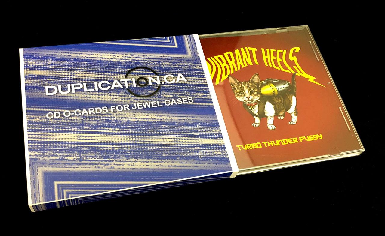 CD O-Cards (offset print)