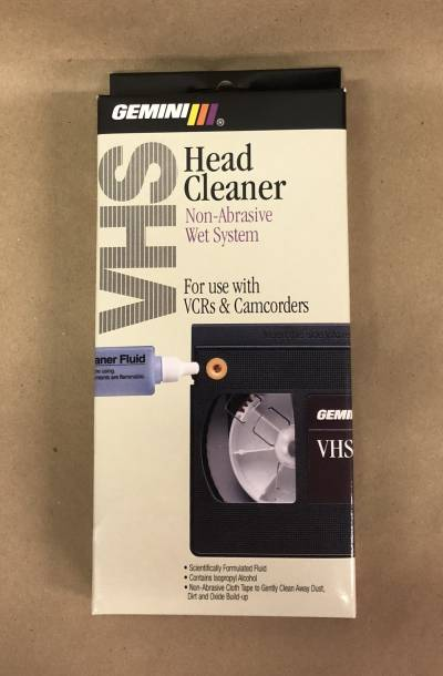 Gemini VHS Head Cleaner Non-Abrasive Wet System