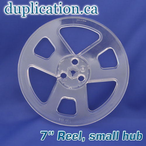 NEW 7 inch clear plastic reel