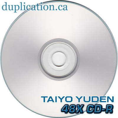 Taiyo Yuden silver inkjet printable 38mm (100 pieces) +CPCC LEVY