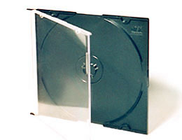CD Slimline 5.2mm, black tray, Pro Grade, 200 Pieces