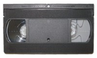 DT-05 5 Minute Blank VHS Tapes, Tab In, 10 Pack
