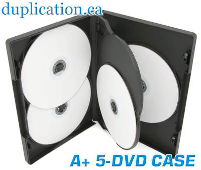 DVD 5 Disc Case