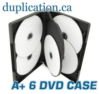 DVD 6 Disc Case