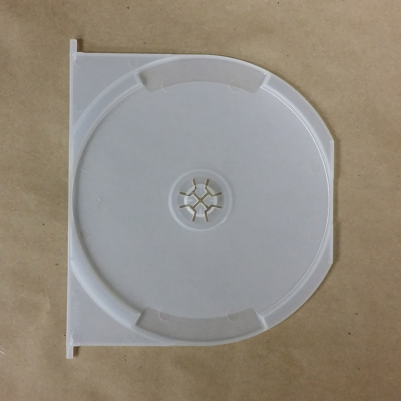 Frosty Snap-In Tray For Expandable DVD Cases