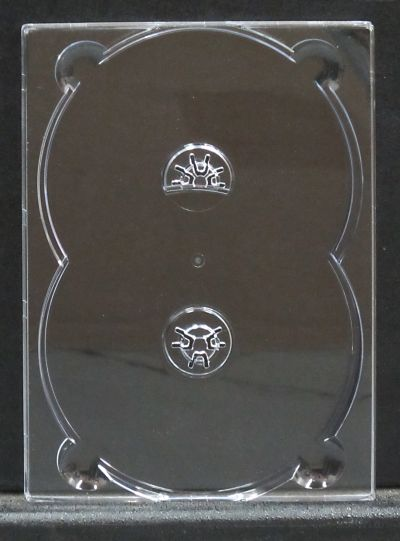 Double DVD Digi Tray for gluing onto board