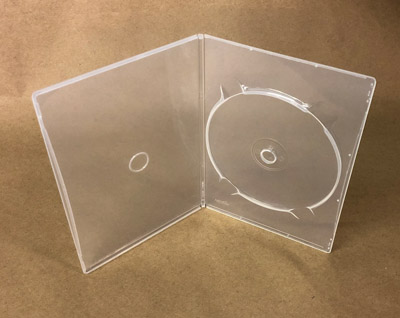 Nexpak 7mm Slim Clear DVD Cases - Top Quality - 10PK