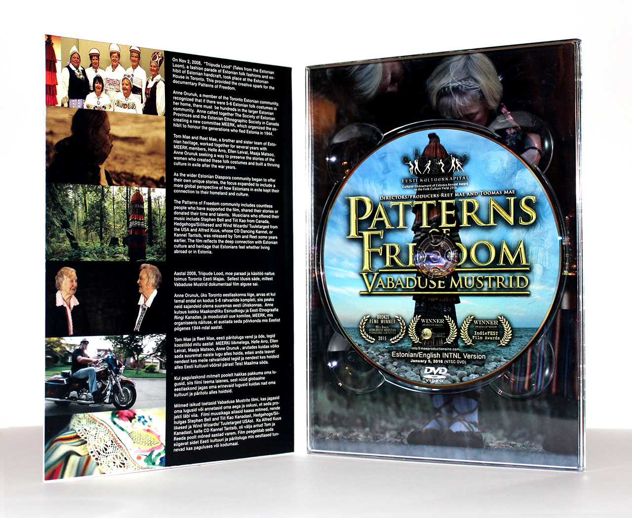 DVD 4-Panel Digipak