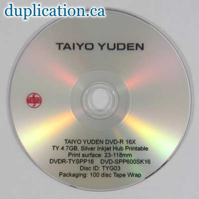 photo about Ink Jet Printable Dvd referred to as Inkjet printable DVD-R media - DVD-R - Blank DVD Media