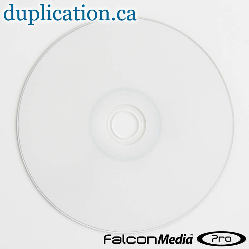 Falcon Premium 2P DVD+R DL 8.5GB 8X White Thermal Hub Printable (Everest and Teac P55)