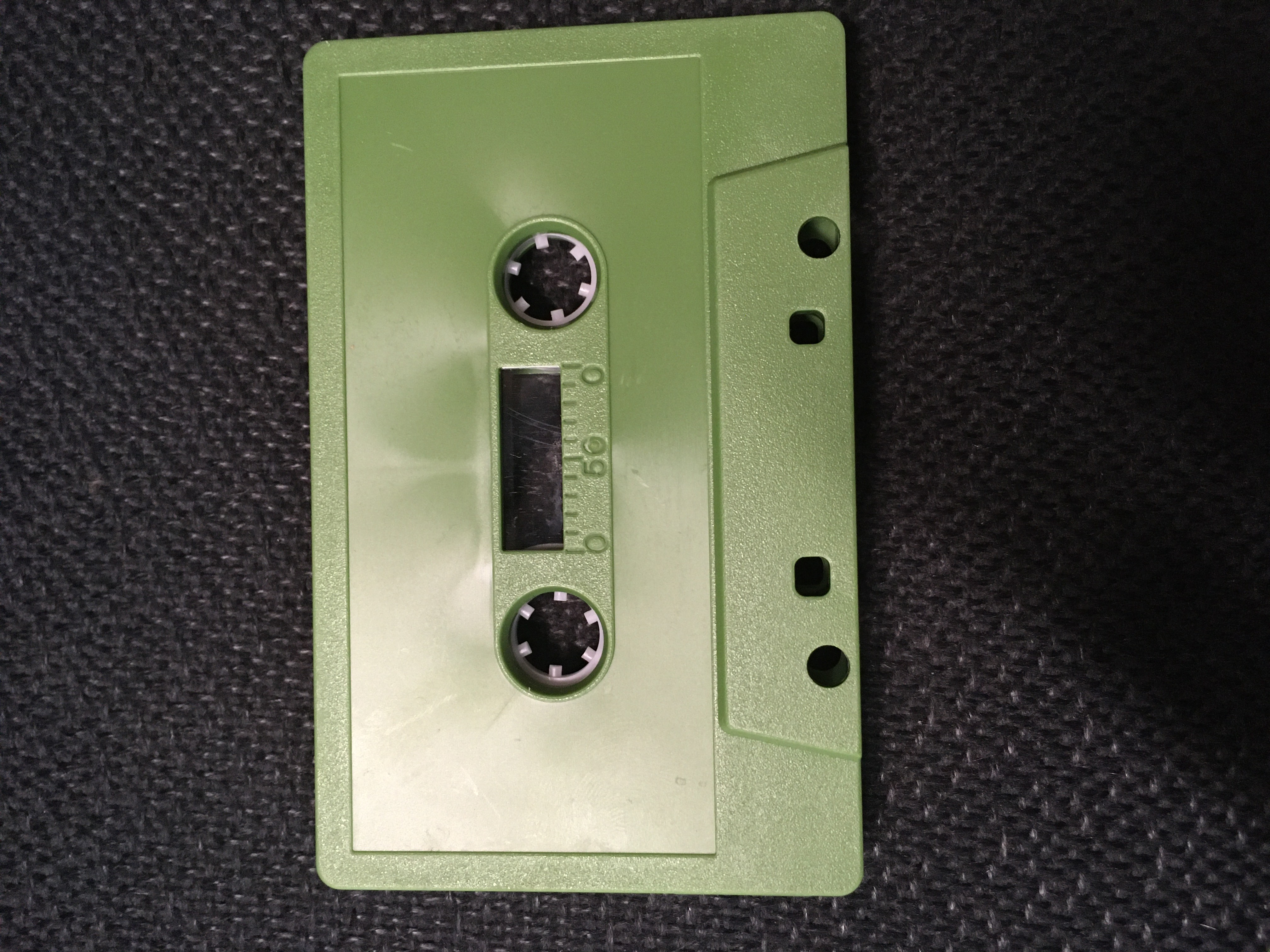 C-51 normal bias Forest Green Cassettes 20 pack