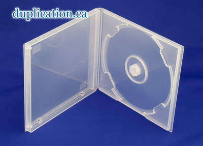 CD Poly Case 10mm Clear Single F/S