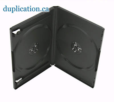DVD Box 14mm Black Double F/S