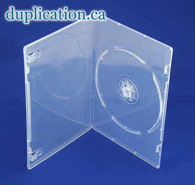 DVD Box 7mm Clear Single F/S