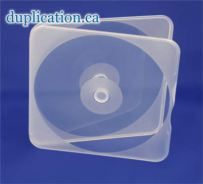 CD Poly Case Thin Clear, Square, No Sleeve M037202,cd-clamsquar