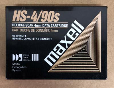 Maxell 2GB / 90 Meter DDS DAT Cartridge