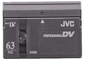 JVC Professional DV 63 Minute Metal Evaporated Mini-DV - Lot of 3 BRAND NEW