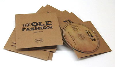 Offset-Printed Cardboard Jackets for CD and DVD