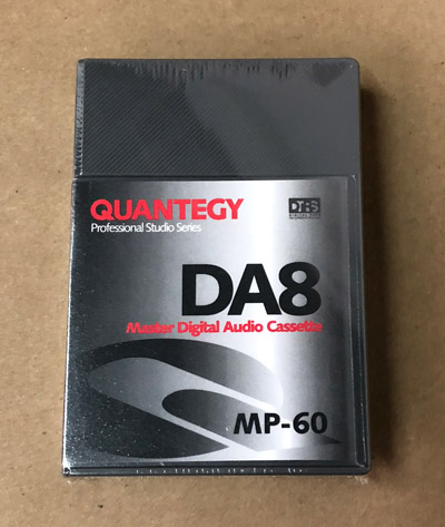 Quantegy DA8 MP-60 Tape Made in Japan