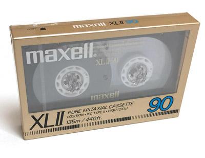 Maxell XLII - 90 CrO2 Blank Audio Cassette Tape Vintage 4
