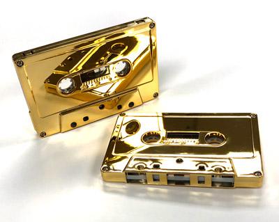 GOLD24K Audio Cassette